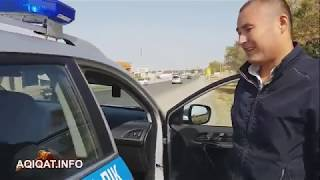Сайрам ауданы, Қарасу ауылы. Жол полициясы