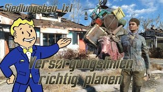 Fallout 4 Guide Versorgungsrouten richtig erstellen