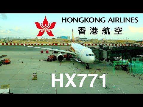 Hong Kong Airlines Airbus A330-200 Economy Class Flight | Hong Kong ✈ Bangkok (HX771)
