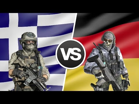Greece vs Germany - Military Power Comparison 2017 - Greek Army vs German Army 2017
