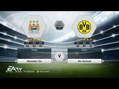 FIFA 14 DEMO GAMEPLAY  #1 - BVB vs MAN CITY - Gamescom 2013 - Xbox 360