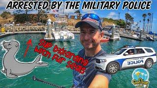 Попал в замес в Сан-Диего. Допрос военной полиции. Серфинг и сап-бординг в Калифорнии. Дальнобой США