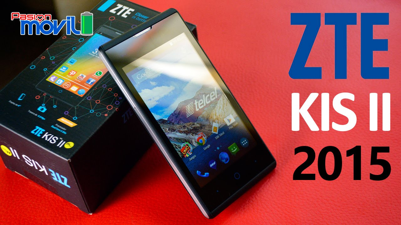 ZTE KIS II 2015  Unboxing en Español HD  YouTube