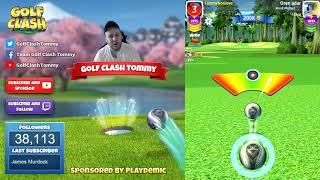 Golf Clash tips, Playthrough, Hole 1-9 - EXPERT - TOURNAMENT WIND! Easter Open Tournament!