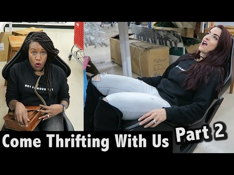 Knick Knacks, Curtains at Savers Part 2|Come Thrifting With Us|#ThriftersAnonymous