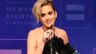 Katy Perry Supports LGBT Community in Human Rights Campaign Speech:
