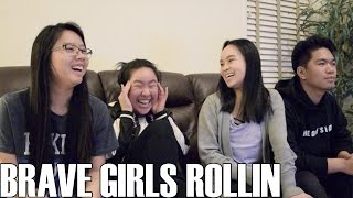 Brave girls (브레이브걸스)- rollin (reaction video)
