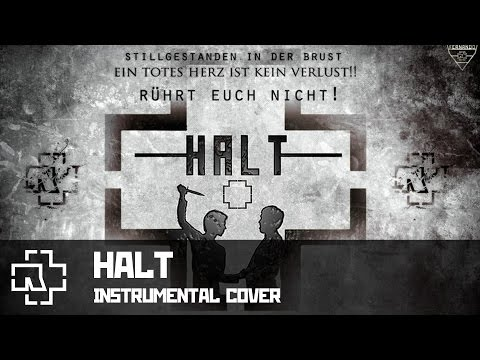 Rammstein - Halt (instrumental cover)