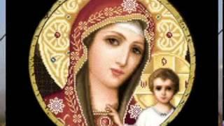 Православная вышивка крестиком, иконы.mp4