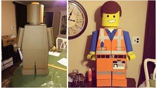 Лего из бумаги своими руками. Огромные Лего Человечки !!!