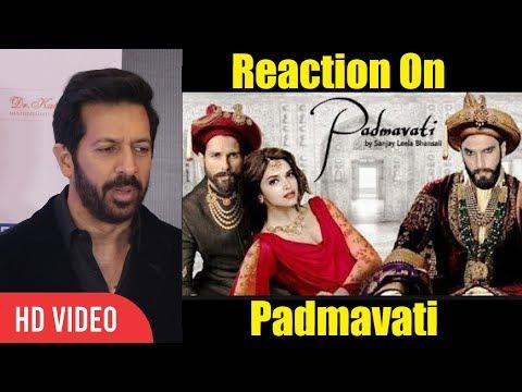 Kabir Khan Reaction On Padmavati Trailer | Deepika Padukone, Ranveer Singh, Shahid Kapoor
