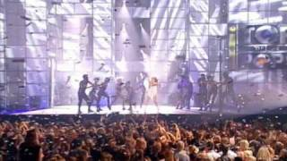 Kylie Minogue Come Into My World Fischerspooner Mix  Live TOTP Awards 2002 29 Nov 2002