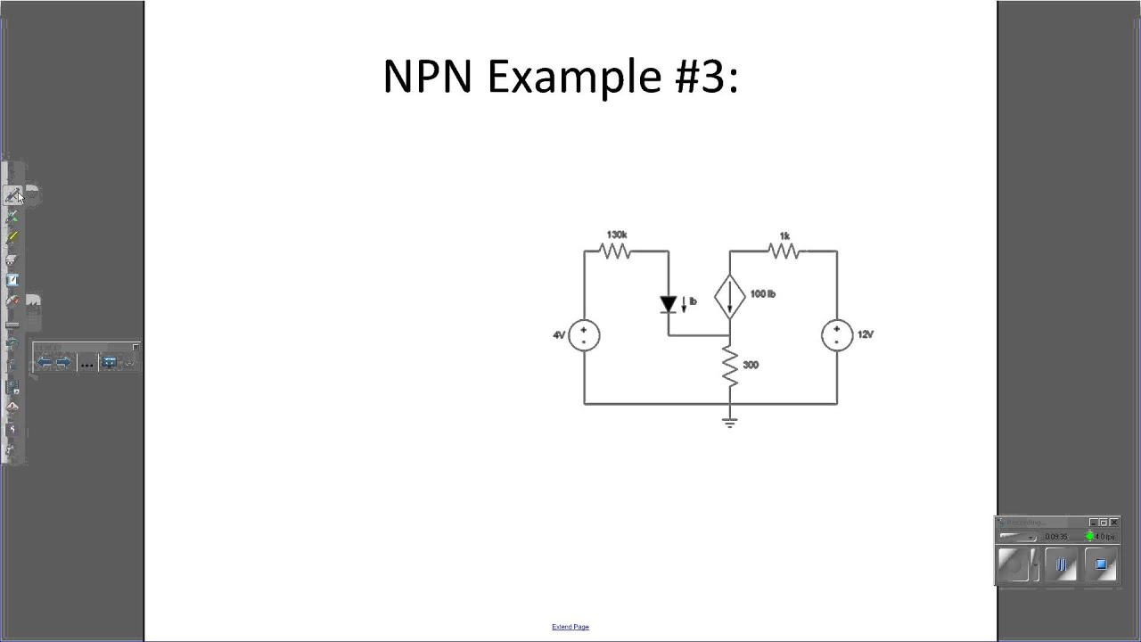 Transistor Circuit Analysis Youtube