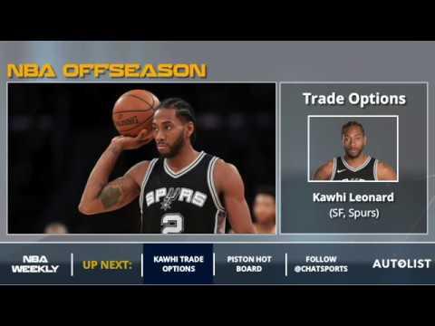 Kawhi Leonard Rumors: 5 Potential NBA Teams That Could Trade For Him In 2018