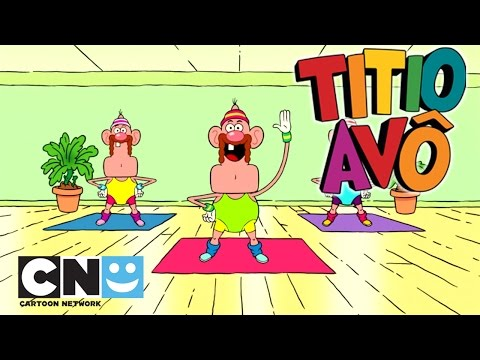 Treino do Titio Avô | Titio Avô | Cartoon Network