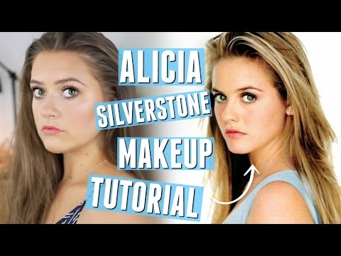 Alicia Silverstone makeup tutorial | Doppelgänger week | EmmasRectangle