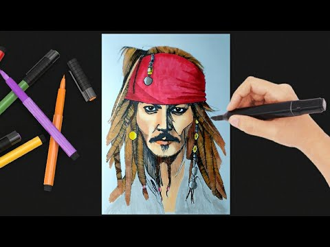 Pirates of the Caribbean - Free printable Coloring pages for kids | 360x480