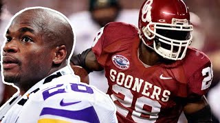 Adrian Peterson thought he was NFL READY after his FRESHMAN season!