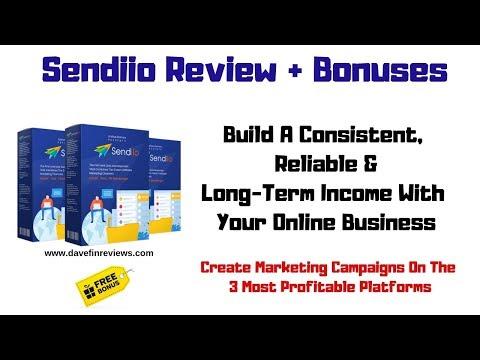 Sendiio Review Demo and Bonus. http://bit.ly/2ZuenQ2
