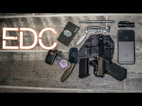 EDC 2017 - Minimalist Everyday Carry - Practical Pocket Dump