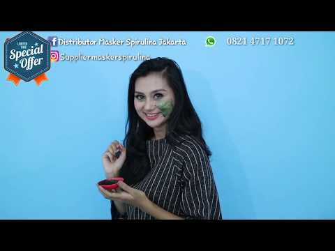 Solusi Muka Bersih Dengan Obat Herbal - Masker Spirulina Original