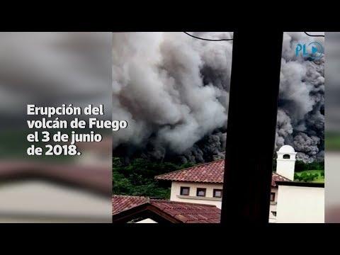 Nuevas imágenes de la erupción del volcán de Fuego | Prensa Libre