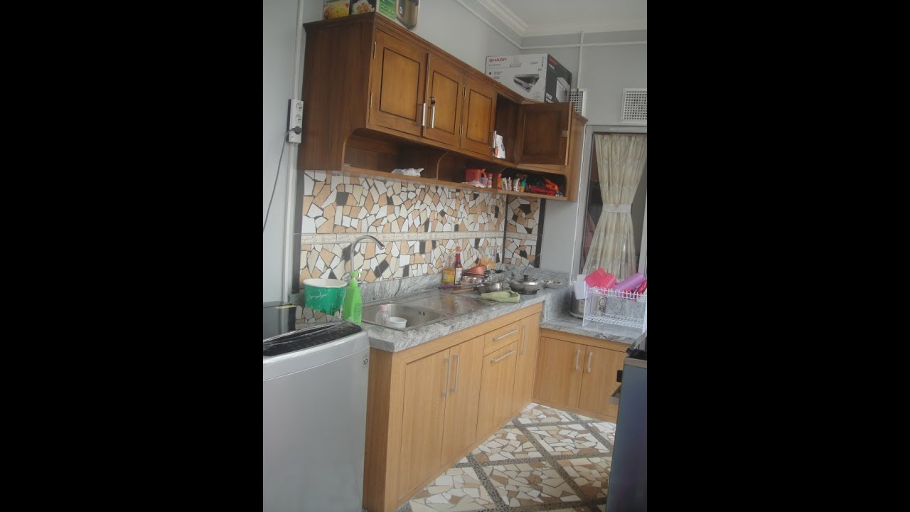 Desain Interior Kitchen Set Minimalis Lemari Dapur Modern Custom