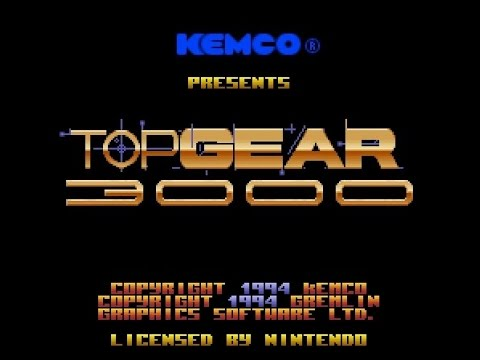 SNES Longplay [223] - Top Gear 3000