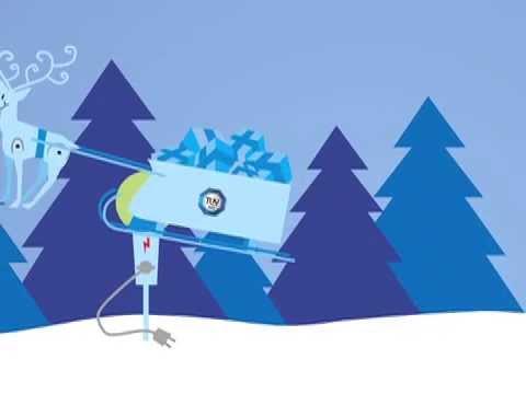 TÜV SÜD elektronische Weihnachtskarte 2012