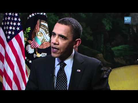 Funding College -- President Obama's YouTube Interview 2011