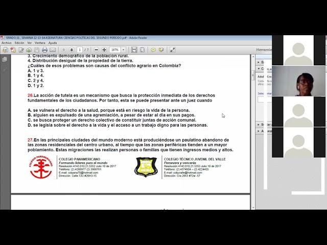 31-05-2021-GRADO:11-SEMANA-16-ACTIVIDAD PRUEBAS SABER  DE CIENCIAS POLITICAS
