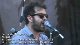 Fernando Milagros - Animal (Mi Cuadra / Chucre Manzur / 22.04.2012)
