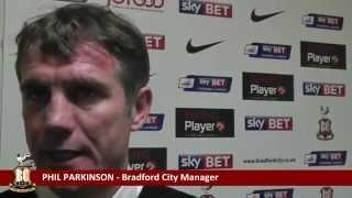 Phil Parkinson Post Match Interview - Bradford City vs Oldham Athletic