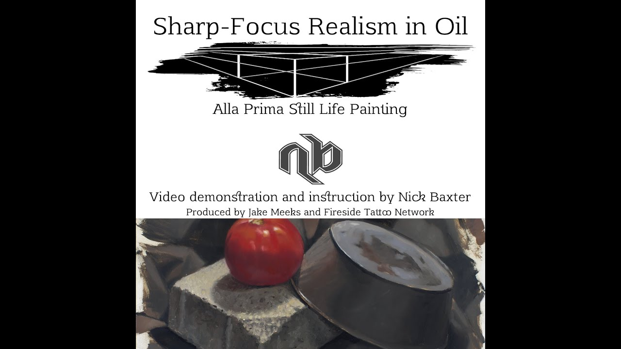 Nick Baxter's Oil painting Still Life Setup Tips & Techniques