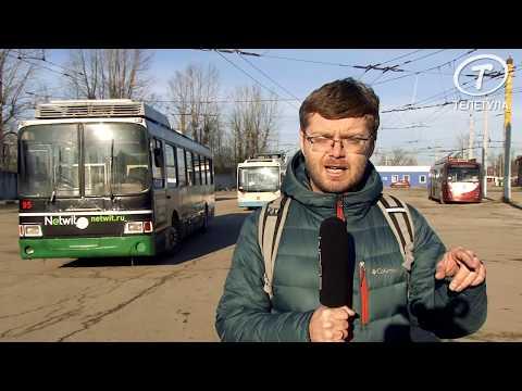 """Рогатая"" диковинка: Видеоблог Егора Пронина об истории тульского троллейбуса"