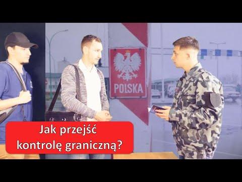 Как проходить контроль на границе Польши на польском языке?