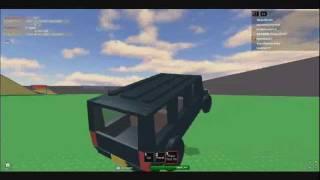 Roblox Extreme Abbruch Derby 2 wie man Autos fliegen zu lassen