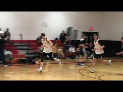 Exchange student from Italy, Giulio, hit what looked to be the game winner but Cole Donchez...