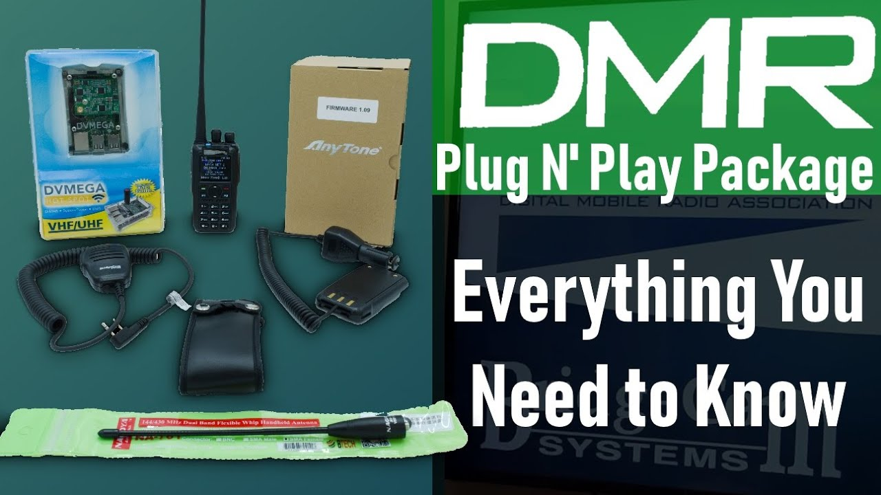 DMR Plug N' Play Package from BridgeCom  Everything You Need to Know!  (OUTDATED)
