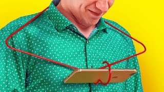 20 USEFUL WIRE HANGER LIFE HACKS THAT'LL MAKE YOUR EYES HUGE WITH SURPRISE