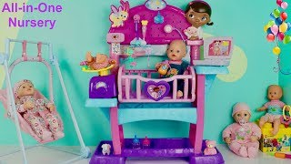 Baby Born Baby Annabell Disney Doc Mcstuffins All-in-One Nursery Baby Dolls Center