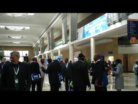 Rush Hour at Dubai Convention Centre