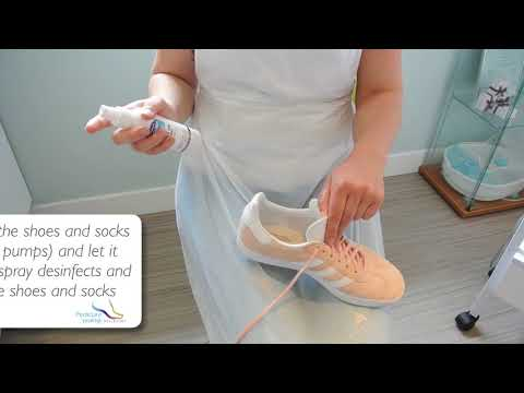 #4 Tutorial SHOE AND SOCK SPRAY