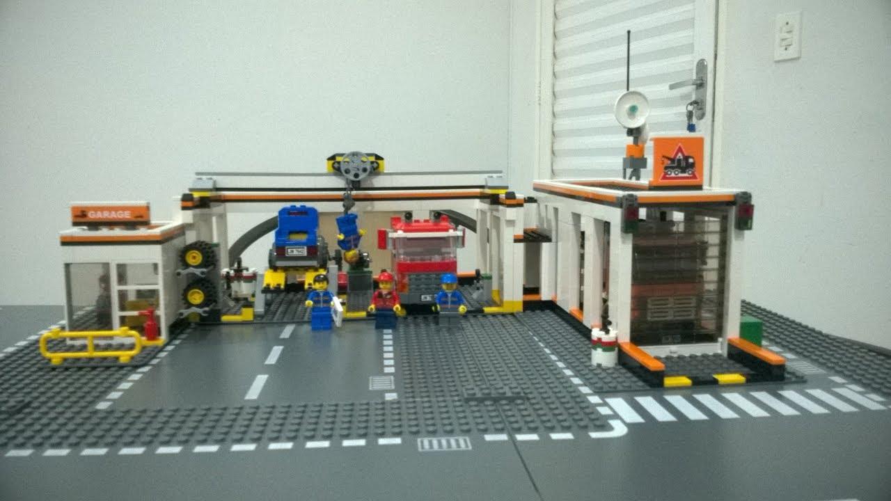LEGO City 7642 - Oficina (Garage) Revisão em Português - YouTube