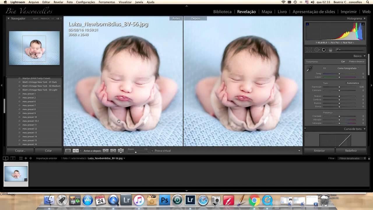 Newborn Ajustando Pele Do Bebe No Lightroom 01 Youtube
