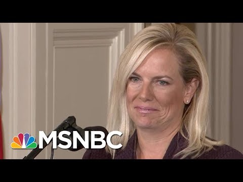 President Donald Trump DHS Pick Led George W. Bush To Failure In Katrina  | Rachel Maddow | MSNBC