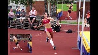 Naisten korkeushyppy | leirikisa 2.7.17 | Ruoveden korkeuskarnevaalit