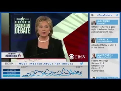 Democratic Debate November 14, 2015 Clinton, Sanders, O'Malley