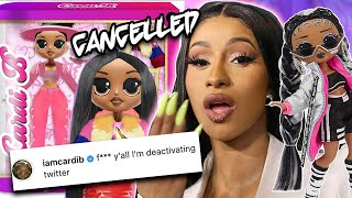 Why Cardi B is being DRAGGED over this DOLL : LOL Surprise