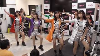 20180902 HMV札幌ステラプレイス店 フルーティー、2代目HAPPY少女♪ リ...